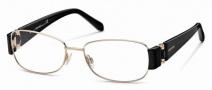 Roberto Cavalli RC0544 Eyeglasses Eyeglasses - 028 - Rose gold, black temples