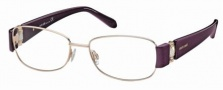 Roberto Cavalli RC0544 Eyeglasses Eyeglasses - 28A - Rose gold, pearl violet/pearl ivory temples