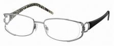 Roberto Cavalli RC0547 Eyeglasses Eyeglasses - 012 - Dark ruthenium, black/zebra temples