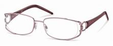 Roberto Cavalli RC0547 Eyeglasses Eyeglasses - 072 - Rose, pearled amethyst temples