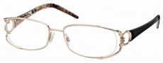 Roberto Cavalli RC0547 Eyeglasses Eyeglasses - 28A - Rose gold, black/giraffe effect temples