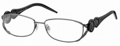 Roberto Cavalli RC0549 Eyeglasses Eyeglasses - 008 - Gunmetal, striped dove grey shaded black