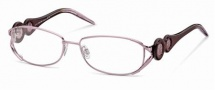 Roberto Cavalli RC0549 Eyeglasses Eyeglasses - 072 - Rose, striped rose shaded brown