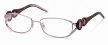 Roberto Cavalli RC0549 Eyeglasses Eyeglasses - 072 - Rose, striped rose shaded brown