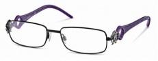 Roberto Cavalli RC0550 Eyeglasses Eyeglasses - 001 - Black/violet havana temples