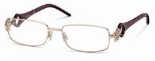 Roberto Cavalli RC0550 Eyeglasses Eyeglasses - 028 - Rose gold, pearl violet temples
