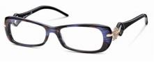 Roberto Cavalli RC0551 Eyeglasses Eyeglasses - 083 - Melange violet/brown, rose gold, black temples