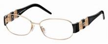 Roberto Cavalli RC0554 Eyeglasses Eyeglasses - 028 - Rose gold, black temples