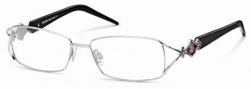 Roberto Cavalli RC0557 Eyeglasses Eyeglasses - 016 - Palladium, pearl violet temples