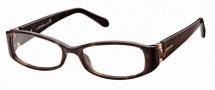 Roberto Cavalli RC0560 Eyeglasses Eyeglasses - 052 - Havana, rose gold, violet temple tips