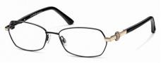 Roberto Cavalli RC0629 Eyeglasses Eyeglasses - 001 Black, Gold
