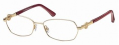 Roberto Cavalli RC0629 Eyeglasses Eyeglasses - 028 Ruby Red, Burgundy, Gold