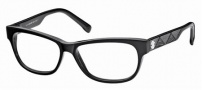 Roberto Cavalli RC0630 Eyeglasses Eyeglasses - 001 Black Black