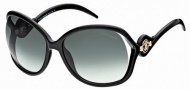 Roberto Cavalli RC575S Sunglasses Sunglasses - 01B Black, Gradient Gray Lens