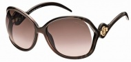 Roberto Cavalli RC575S Sunglasses Sunglasses - 50F Brown havana Gradient brown lenses