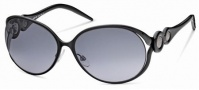 Roberto Cavalli RC588S Sunglasses Sunglasses - 05B Black, Gradient Gray Lens