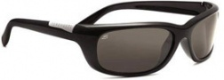 Serengeti Verucchio Sunglasses Sunglasses - 7440 Shiny Black / Polar PhD CPG