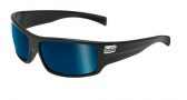 Bolle Tetra Sunglasses Sunglasses - 11366 Satin Black / Polarized Offshore Blue