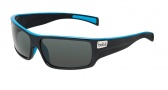 Bolle Tetra Sunglasses Sunglasses - 11708 Shiny Black / Blue Line / TNS