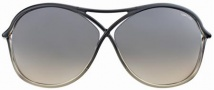 Tom Ford FT0184 Vicky Sunglasses Sunglasses - 20B Dark Grey Shaded/dark Grey Blue Shaded