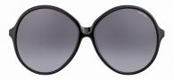Tom Ford FT0187 Rhonda Sunglasses Sunglasses - 01F Black/grey Brown Shaded