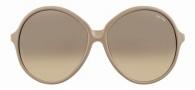 Tom Ford FT0187 Rhonda Sunglasses Sunglasses - 57F Beige Cream/Beige Shaded