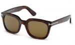 Tom Ford FT0198 Campbell Sunglasses Sunglasses - 56J Havana / Roviex