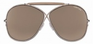 Tom Ford FT0200 Catherine Sunglasses Sunglasses - 34B Gold Brown/Brown Violet Shaded