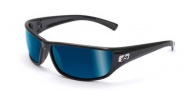 Bolle Python Sunglasses Sunglasses - 11333 Shiny Black / Polarized Offshore Blue