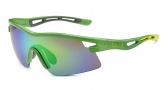 Bolle Vortex Sunglasses Sunglasses - 11734 Shiny Green / Rose Emerald