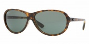 Ray-Ban RB4153 Sunglasses Sunglasses - 710  LIGHT HAVANA CRYSTAL BROWN