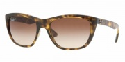 Ray-Ban RB4154 Sunglasses Sunglasses - 710/51 Light Havana / Crystal Brown Gradient