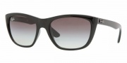 Ray-Ban RB4154 Sunglasses Sunglasses - 601/32 BLACK CRYSTAL GRAY GRADIENT