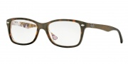 Ray Ban RX5228 Eyeglasses Highstreet Eyeglasses - 5409 Havana on Camuflage