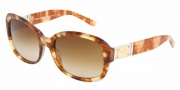 Dolce & Gabbana DG4086 Sunglasses Sunglasses - 173413 Havana Honey / Arrow Brown Gradient