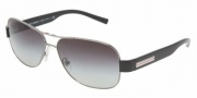 Dolce & Gabbana DG2076 Sunglasses Sunglasses - 01/87 Black /Gray