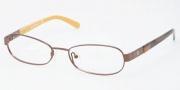 Tory Burch TY1017 Eyeglasses Eyeglasses - 104  BROWN DEMO LENS