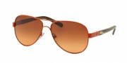 Tory Burch TY6010 Sunglasses Sunglasses - 308678 Poppy/Coconut / Brown Orange Gradient