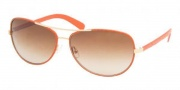 Tory Burch TY6013Q Sunglasses Sunglasses - 940/13 ORANGE LEATHER BROWN GRADIENT