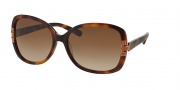 Tory Burch TY7022 Sunglasses Sunglasses - 936/13 Amber Tort / Brown Gradient