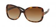 Tory Burch TY7022 Sunglasses Sunglasses - 111413 Amber Block / Brown Gradient