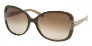 Tory Burch TY7022 Sunglasses Sunglasses - 938/13 Olive Khaki / Brown Gradient
