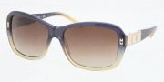 Tory Burch TY7025 Sunglasses Sunglasses - 951/13 NAVY OLIVE FADE BROWN GRADIENT