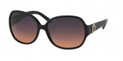 Tory Burch TY7026 Sunglasses Sunglasses - 501/95 Black Grey Orange Fade
