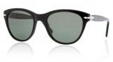 Persol PO2990S Sunglasses Sunglasses - 95/31  BLACK CRYSTAL GREEN