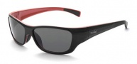 Bolle Crown Jr. Sunglasses Sunglasses - 11401 Black - Red / TNS