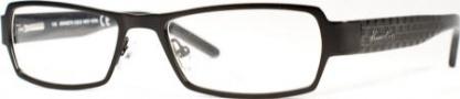 Kenneth Cole New York KC0129 Eyeglasses Eyeglasses - 001 Semi Shiny Black/Demo Lens