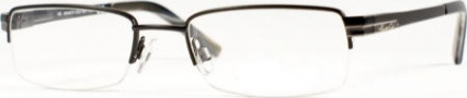 Kenneth Cole New York KC0131 Eyeglasses Eyeglasses - 001 Semi Shiny Black/Demo Lens