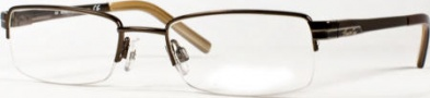 Kenneth Cole New York KC0131 Eyeglasses Eyeglasses - 048 Shiny Brown/Demo Lens