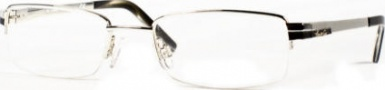 Kenneth Cole New York KC0131 Eyeglasses Eyeglasses - 016 Shiny Silver/Demo Lens